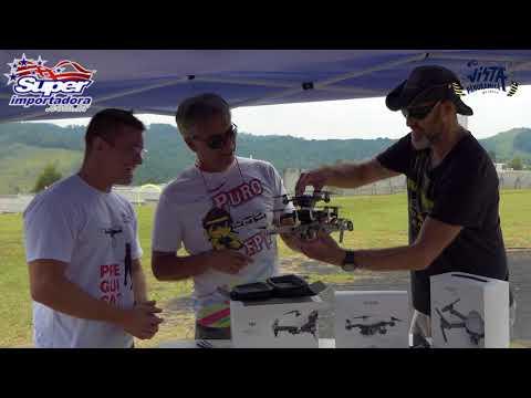 DJI Mavic AIR Fly More - Unboxing e Primeiro Voo - Participacao especial Wanzam 01de02