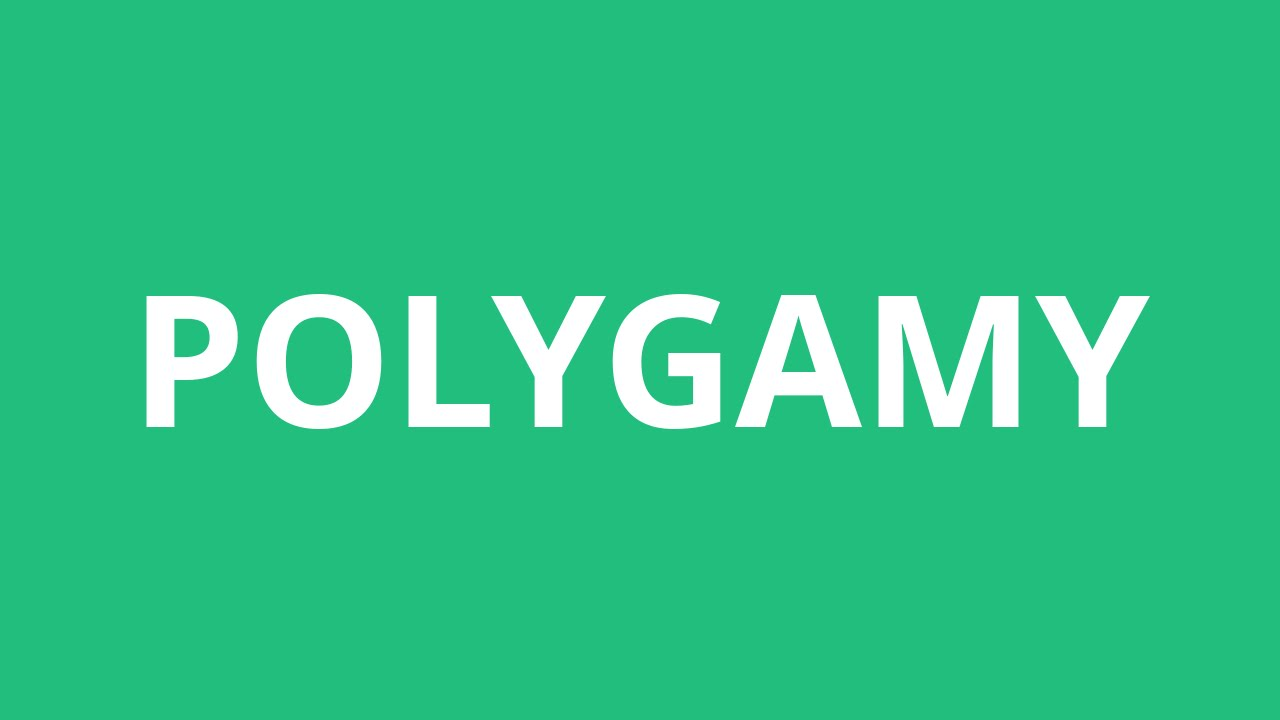 how to pronounce polygamy pronunciation academy
