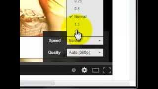 Tips and Tricks 1 - How to watch youtube video in slow and fast motion(Learn how to watch youtube video in slow motion and fast motion online. Step1: Open your favorite youtube video. Step2: Click on