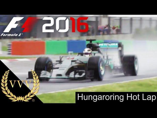 F1 2016 Hungaroring Hot Lap