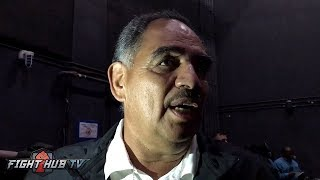 ABEL SANCHEZ FEELS CANELO SLAPS HIS PUNCHES; REACTS TO THOSE THAT SAY GOLOVKIN IS WASHED!