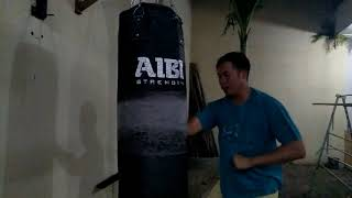 How to strenghten your hammer punch  using sandbag to get higher score in punching machine