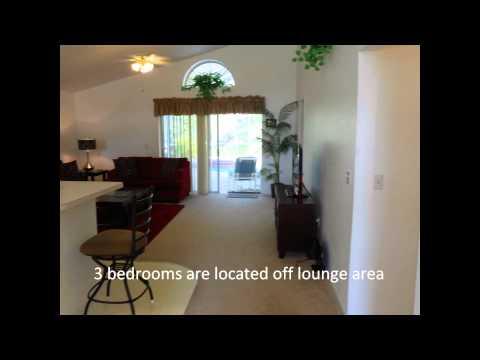 FLORIDA Orlando KISSIMMEE VILLA holiday home 3 bed & pool