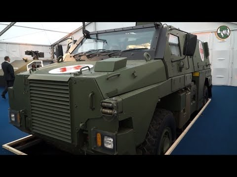 IAV 2018 - Day 1: Bushmaster MR6, NIMR RIV, Esterline Racal,Tyron Runflat, Rafael Trophy