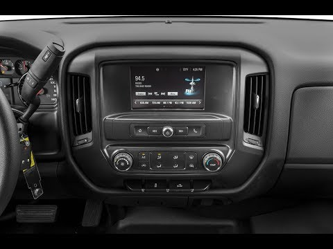 How To Remove A 2017 Chevy Silverado Factory Radio And Bezel