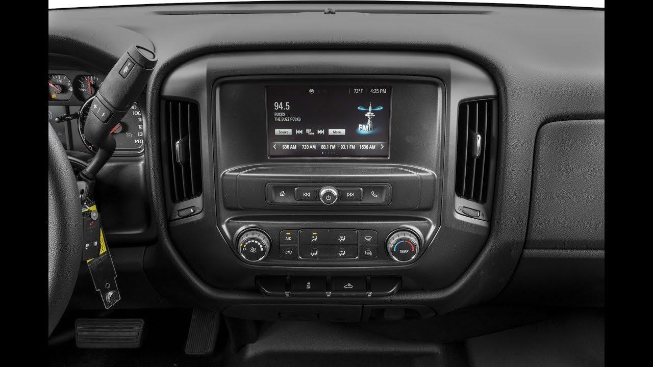 How To Remove a 2017 Chevy Silverado Factory Radio and ...