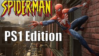 Spider Man PS4 Game (PS1 Edition)