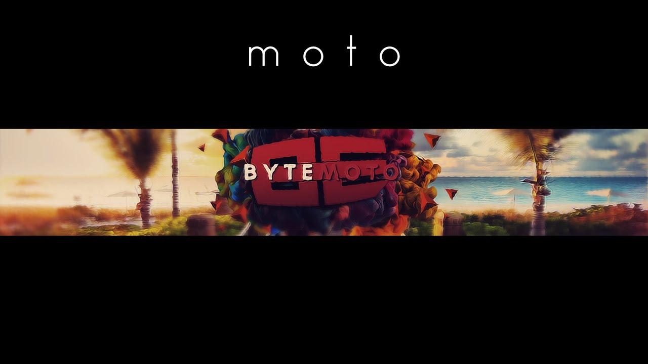 byte moto banner speed art bytereturns youtube. Black Bedroom Furniture Sets. Home Design Ideas