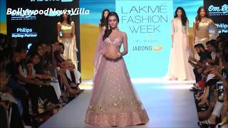 Amy jackson's stunning hot ramp walk at lakme fashion week 2015.