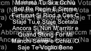 Rocco Hunt Na vota ancora - testo