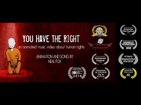 You Have The Right - An animated music video about human rights.
