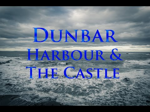 Dunbar Harbour and ruins of the Castle, Scotland