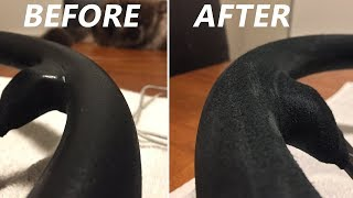 How To Restore A Suede Steering Wheel!