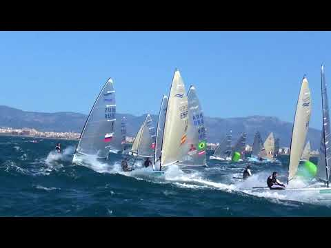 Finn Class at Trofeo Princesa Sofia Iberostar 2018 - Day 3