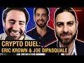 How Low Will Bitcoin Fall?  Eric Krown vs. Joe DiPasquale
