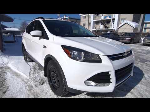 Ford Escape 2.0L Ecoboost Turbosmart BOV Sound