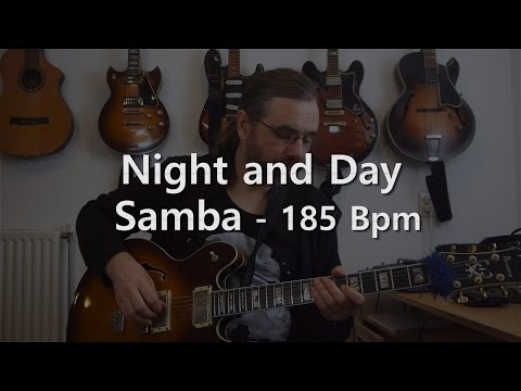 Night and Day - Backing Track - Playalong - Samba - 185 bpm