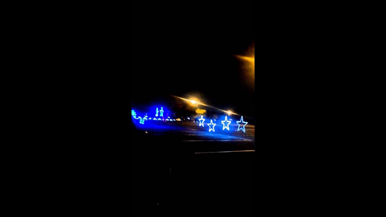CHRISTMAS LIGHTS HANK AARON STADIUM - YouTube