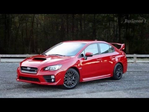 2017 Subaru WRX and WRX STI in-depth review interior exterior ...
