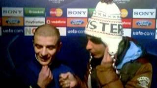 Dopo partita Champions league....Intervista-Rissa Messi-Henry