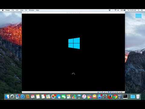 How to Run Windows 10 on Mac 100% FREE (Sierra / El Capitan)