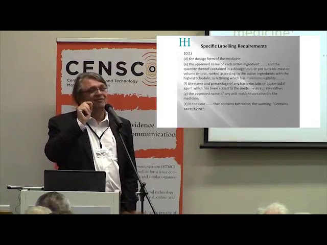 International Summit on Quackery & Pseudoscience   Janusz Luterek