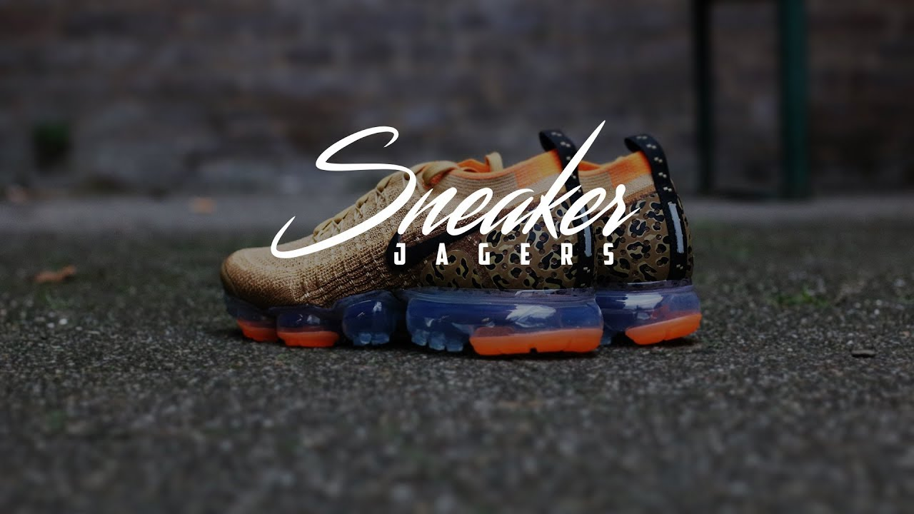 2928a3ffb5ea Unboxing  Nike Air Vapormax Flyknit 2  Leopard   - YouTube