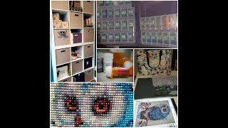 DiamondTube ~ Diamond Painting Storage and Organization ~ Travel Bag ~ Stick With Me