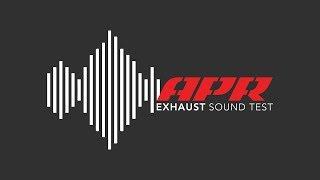 APR MK7 GTI Catback - Sound Test - APR CB w/ Front Muffler & OEM DP