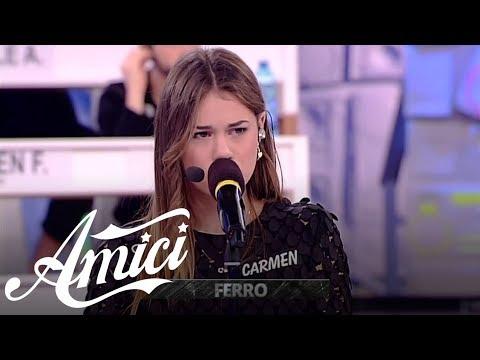 Amici 17 - Carmen - Amore bello