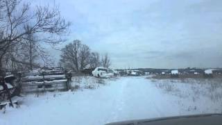 Chevy avalanche off road in snow ontario