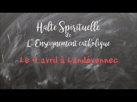 Teaser Halte spirituelle à Landévennec le 4 avril 2016