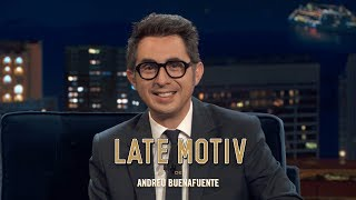LATE MOTIV - Berto Romero. Body Painting I #LateMotiv570