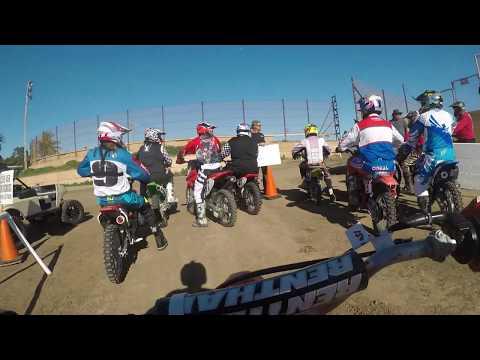XR100 Ventura Raceway Keatin Ellis Flat Track 100cc Practice