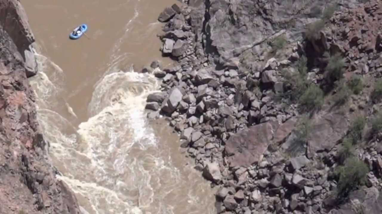 Skull Rapid Westwater Canyon 10 500 Cfs Aerial View