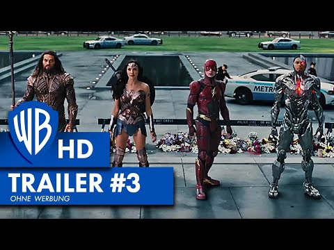 JUSTICE LEAGUE - Trailer #3 Deutsch HD German (2017)