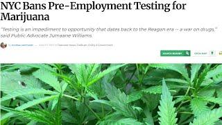 New York City Bans Pre-Emloyment Drug Testing & New York State Denies Bittrex  a MT License