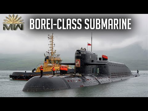 Ballistic Missile Submarine Borei-Class - Russian Navy [Review]