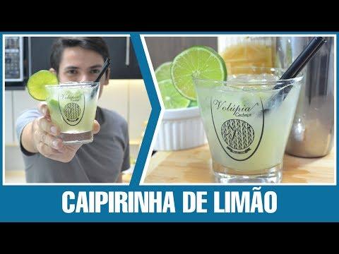 Como Fazer - Caipirinha de Limão