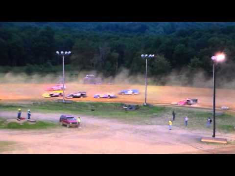 Dog Hollow Speedway - 7/19/15 Super Late Models, B-Main