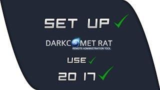 DarkComet RAT 5 3 1 Tutorial Portforwarding + Firewall + DNS 2017