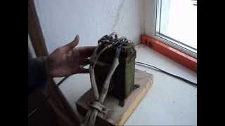 Сварочный аппарат для скруток(Видеообзор о сварочном аппарате для сварки скруток медных проводов электропроводки. Подробнее читайте..., 2013-05-24T06:58:27.000Z)