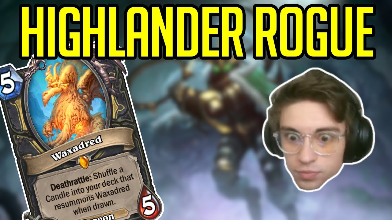 70% Winrate Best Rogue Deck Right Now | Highlander Rogue | Hearthstone