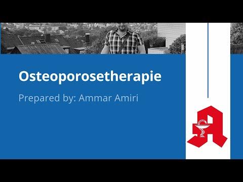 هشاشة العظام وعلاجه Osteoporose - Therapie