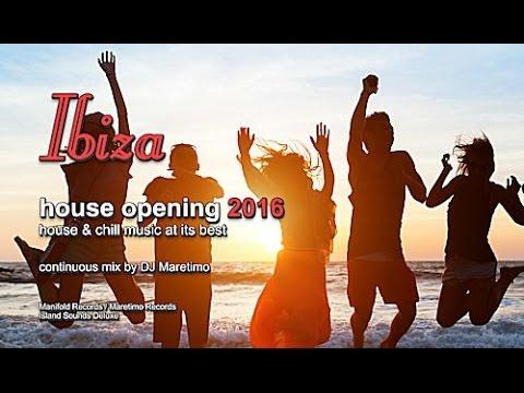 DJ Maretimo - Ibiza House Opening 2016 (Full Album) HD, Balearic Deep House Music