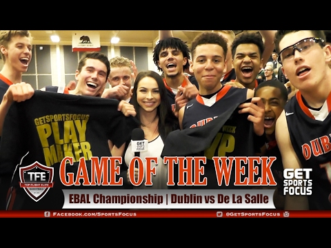 Game of the Week | Dublin vs De La Salle - EBAL Championship