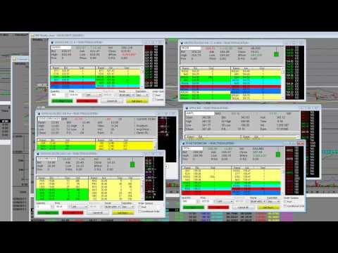 Stock Trading Opening Bell GOOG MSTR AAPL FFIV Options Call vs Puts