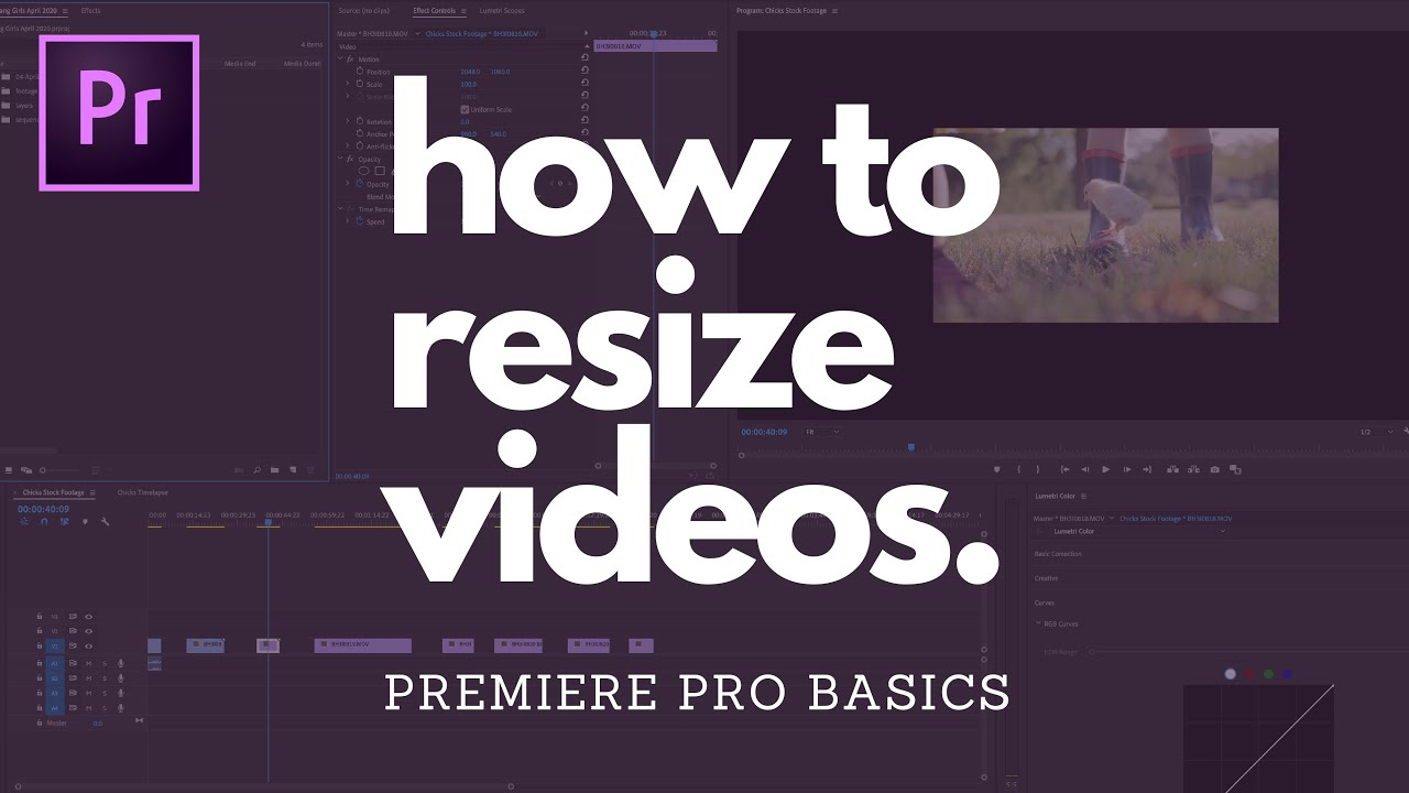 how to change video frame size