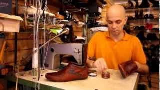 Уход за обувью видео урок. Ремонт обуви. Материалы для ухода.