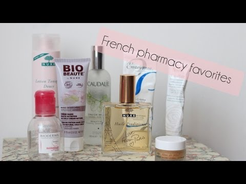 French pharmacy favorites | StyleplaygroundTV